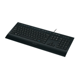 Logitech Tastatur K280e Corded Keyboard for Business USB schwarz Tastatur-Layout Deutsch