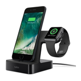 Belkin Apple Watch und iPhone Ladedock black