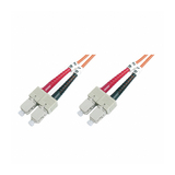 Value LWL Duplexkabel 62,5/125µm SC/SC orange 5m