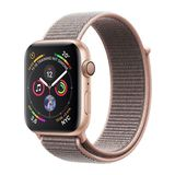Apple Watch Series 4 44mm GPS Aluminiumgehäuse Gold mit Sport Loop Sandrosa