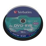 Verbatim DVD-RW 4,7GB 4x Spindel 10er Pack