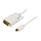 StarTech DisplayPort auf DVI Adapterkabel Stecker/Stecker weiß 3m