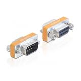 Delock Adapter Sub-D 9-Pin Stecker/Buchse Nullmodem