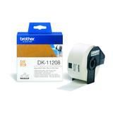Brother DK11208 weiße Adress Etikettenrolle 38x90mm 400St/Rolle für QL550 QL500