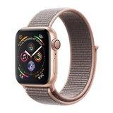 Apple Watch Series 4 40mm GPS Aluminiumgehäuse Gold mit Sport Loop Sandrosa