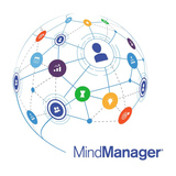 Mindjet MindManager Enterprise 5-9 User 1 Jahr Subscription Lizenz Multilingual Win/Mac