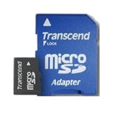 Trancend Micro SD-Card 1024MB SDSlot Adapter Retail