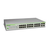 Allied Telesis 24port 10/100/1000TX Switch mit 2GBIC bays