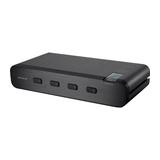 Belkin Advanced Secure DVI-I KVM Switch - KVM-/Audio