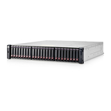 HP Modular Smart Array 1040 Dual Controller SFF Storage 2Prt 1GbE iSCSI 2HE