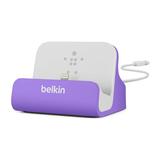 Belkin Sync-/Lade-Dock für iPhone 5 Violett