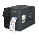 Epson ColorWorks C7500, Cutter, Disp., USB, Ethernet, NiceLabel, schwarz