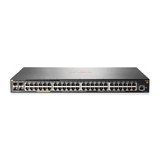 HP Aruba 2930F 24G PoE+ 4SFP+ Switch Managed 24x10/100/1000 (PoE+) + 4x1 Gigabit/10 Gigabit SFP+ (Uplink) an Rack montierbar PoE+