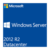 SB MS Windows Server 2012 R2 Datacenter 64bit, 2 Prozessoren, DVD, Deutsch, Win (SystemBuilder)