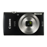 Canon Digital Ixus 185 schwarz 20 MPixel 8x opt. Zoom 6,8 cm Display
