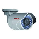 Roline 2 MPx Bullet Netzwerkkamera RBOF2-1W Full-HD IR-LED PoE 4mm Objektiv (85° Blickwinkel)