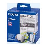 Brother Etiketten weiß 62mmx30,48m wiederablösbar für QL-500 /-550 /-650TD