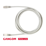 CANCOM Prime Line Patchkabel RJ-45 S/FTP Cat6 Grau 3m