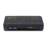 Avocent KVM-Switch 4Port USB inkl. Audio Kabel Set