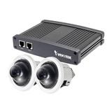 Vivotek VC8201-M11 Split IP Kamerasystem Indoor 2 x CU8131 1MP WDR 8m Kabel PoE