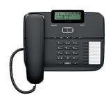 Siemens Gigaset DA710 schwarz 3zeiliges Display Telefonbuch 100 Namen