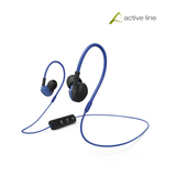 Hama Clip-On-Sport-Ohrhörer Active BT, Schwarz/Blau