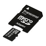 Transcend Micro SDHC Card 8192MB mit SD-Adapter