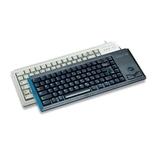 Cherry Tastatur G84-4400 PS/2 grau Tastatur-Layout US-Englisch