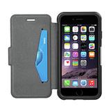 OtterBox Strada Flip Cover  für iPhone 6/6s Leder schwarz
