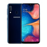 "Samsung Galaxy A20e 14,42 cm (5,8"") Display 13 MPixel Kamera 32 GB integr. Speicher (Blau)"