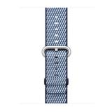 Apple gewebtes Nylonband für Apple Watch 38mm mitternachtsblau kariert