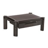 StarTech Monitorständer mit Schublade höhenverstellbar für 33-81,3cm (13-32'') schwarz max. Traglast 10kg
