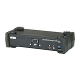 ATEN 2-Port USB 3.1 4K DisplayPort KVM Switch