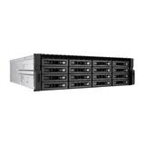 QNAP REXP-1620U-RP Expansion Unit, Speichergehäuse 16 Bay ohne Festplatte 3xSAS/1xSeriell Rack 3HE