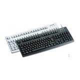 Cherry Tastatur G83-6104 USB schwarz Tastatur-Layout US-Englisch/Russisch