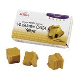 Xerox Solid Ink Stix für WorkCentre C2424 3er Pack gelb