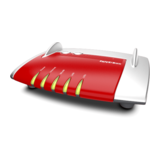 AVM FRITZ!Box 4020 WLAN-Router bis zu 450 MBit/s Antennen intern