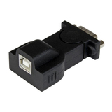 StarTech USB/RS232 Serieller Adapterkabel Schwarz 1,8 m