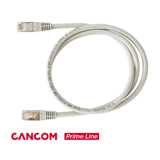 CANCOM Prime Line Patchkabel RJ-45 S/FTP Cat6 Grau 1m