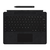 Microsoft Surface Pro X Signature Keyboard mit Slim Pen Bundle schwarz Layout deutsch