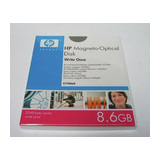 HP 8,6GB Worm MO Disk 2024Bytes/Sector