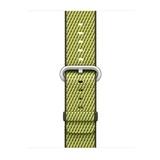 Apple gewebtes Nylonband für Apple Watch 38mm dunkeloliv