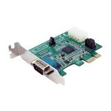 StarTech Low Profile Native Seriell RS232 PCI Express Karte mit 16950 UART 1 Port