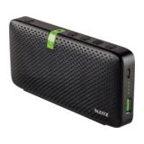 Leitz Complete Tragbarer Konferenz Bluetooth HD Lautsprecher schwarz
