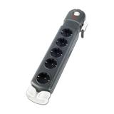 APC Überspannungsschutz-Steckdosenleiste 5xAusgangsstecker schwarz