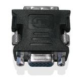 Fujitsu Adapter DVI zu VGA Stecker/Buchse Schwarz
