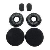 Jabra Foam Refresher Kit für B250-XTS besthend aus: 2x Kunstlederohrkissen/2x Schaumstoffohrkissen/2x Mikrofon-Windschutz