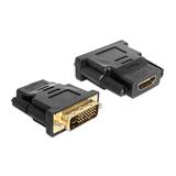 Delock Adapter DVI-D (Dual-Link)/HDMI Stecker/Buchse