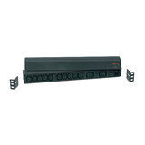 APC Rack Basic PDU 1U 16A 208 & 230V Horizontal Power Distribution Unit, Input: IEC 320 C20 inlet, Output: (2) IEC 320 C19, (10) IEC 320 C13 2 Jahre Herstellerg