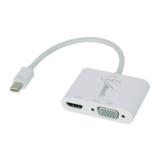Lindy Mini-DisplayPort 1.2 an HDMI 4K & VGA Adapter (aktiv)